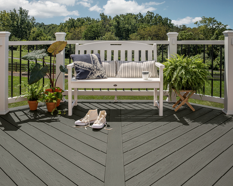 Trex & TJ O'Mahony.  Serious about Composite Decking!
