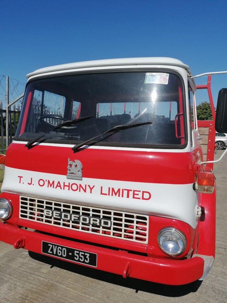 "ZV60 553   ""Old TJ"". Our Vintage Bedford lorry"