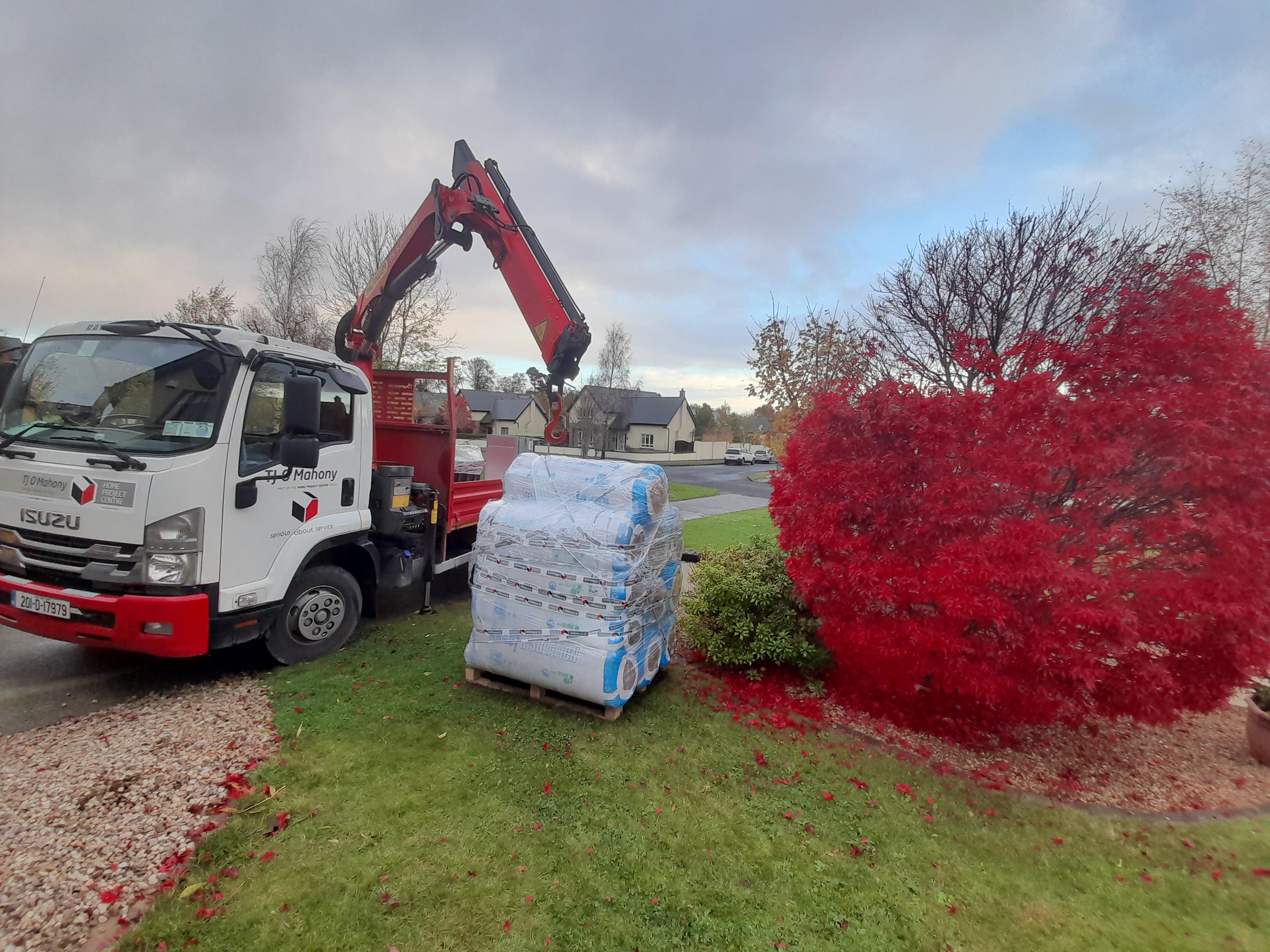 Lorry; Unloading Method